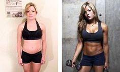 Bodybuilding.com - Women's Workout Plan: How Ashley Hoffmann Trains For Strength #Jamie'scookingtips
