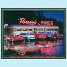 Blikkskilt Rosie s Diner - Ruth 66