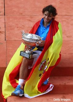 2011; Rafael Nadal, the defending champion and, after this tournament, six-time winner of this event defended his title by beating long-time rival Roger Federer 7–5, 7–6(7–3), 5–7, 6–1 for his sixth French Open title, tying him with Björn Borg for most all-time in the open era. In the first round, the Spaniard played his first five-set match at Roland Garros since his debut in 2005, beating John Isner.