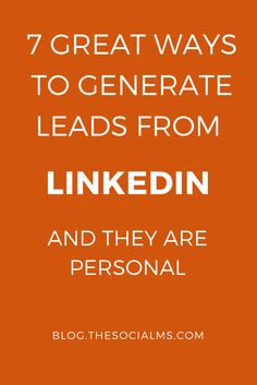 LinkedIn is one of the most efficient places to generate leads, but a lot of people are missing out on it. Here are some ideas how to get targeted leads. lead generation, generating leads, collecting leads, sales funnel Small Business Marketing, Sales And Marketing, Online Marketing, Social Media Marketing, Digital Marketing, Event Marketing, Business Networking, Marketing Tools, Content Marketing