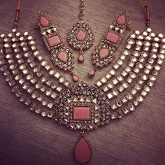 "WEBSTA @ rangposh - My ever so favourite ""Mahnoor"" bridal set in pink."