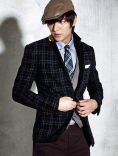 Lee Min Ho for Trugen, Winter 2010. (1184x1566)