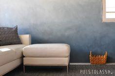 PUISTOLASSA: DIY: liukuvärimaalattu seinä