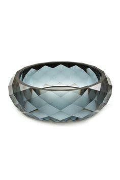Faceted Regan Bracelet in Black Diamond