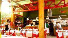 El restaurante Las Cabras en Palermo, Buenos Aires.