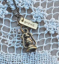 Lantern Shine Necklace