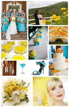 Choosing your wedding color scheme is one of the most fun parts of planning a wedding. Use color as a tool to express your feelings on the big day! Wedding Color Combinations, Wedding Color Schemes, Wedding Colors, Wedding Vows, Wedding Day, Vow Renewal Ceremony, Aqua, Turquoise, Orange