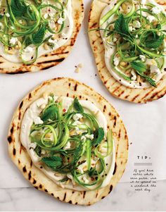 Flatbread with White Bean Puree and Asparagus - Blue Zones Give your hummus a break and make a white bean puree instead! This white bean puree and asparagus flatbread will be the star of your next dinner party. Pureed Food Recipes, Whole Food Recipes, Vegetarian Recipes, Healthy Recipes, Entree Recipes, Blue Zones Recipes, Zone Recipes, Diet Recipes, White Bean Puree