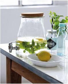 Limonadenspender mit Zapfhahn von House Doctor