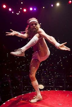 LA SOIREE is the theatrical equivalent of being lashed to the front of a Mardi Gras float that is trying to force a Ringling Brothers circus caravan off the road and into a deep ravine. Ringling Brothers Circus, Mardi Gras Float, Theatre, Tent, Camping, Concert, Personality, Campsite, Store