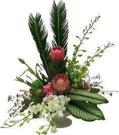 triangle flower arrangement tutorial - Cerca con Google