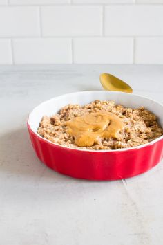 5-minute Breakfast Oatmeal Cookie for ONE!
