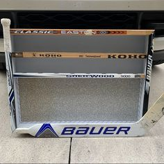 Hockey Coach, Hockey Goalie, Hockey Players, Ice Hockey, Goalie Stick, Hockey Sticks, Hockey Room Decor, Carpenter Bee Trap, Bee Traps