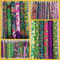 Angela Anderson Art Blog: Polymer Clay Pens - Kids Art Class