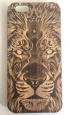Image of Lion Mandala Laser Etched Case | iPhone 6 & 5/5S