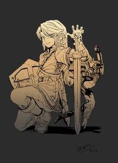 Art by ま  Midna The Legend Of Zelda, Legend Of Zelda Breath, Link And Midna, Link Zelda, Fan Art, Twilight Princess Midna, Demon King, Naruto, Star Wars Art