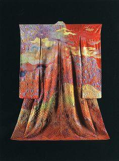 Landscape Kimonos by Itchiku Kubota photo by Jassy-50