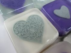Heart Wedding Favors glycerin soap by SoapFavor on Etsy, $29.00