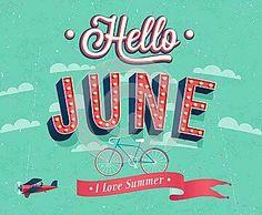 Welcome June!! Empezamos Junio con mucho optimismo y muchas ilusiones!!! A disfrutar de este nuevo mes! I love Summer!