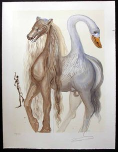 Horace's Chimera  (read http://www.franklinbowlesgallery.com/Shared_Elements/ArtistPages/Dali/pdf/Dalinean%20Horses.pdf)