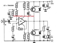 In this post we will talk about 5 outstanding, easy to build, low distortion Hi-Fi 40 watt amplifier circuits that can be further upgraded to higher wattage through some minor […] Electronic Engineering, Electrical Engineering, Engineering Projects, Palio Fire, Power Supply Circuit, Electrical Wiring Diagram, Electrolytic Capacitor, Car Audio Systems, Stereo Amplifier