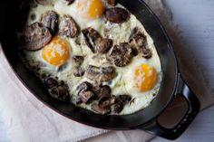 Baked Eggs with Mushrooms and Gruyere | Shine Food - Yahoo Shine