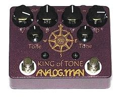 Analog Man King of Tone Pedal