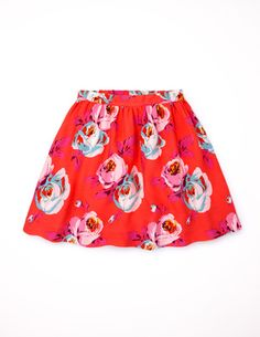 Pretty Printed Skirt 32553 Skirts at Boden, size 2-3