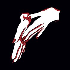 Jeune illustratrice @prune #hands #colors #illustration #drawing #red #prune