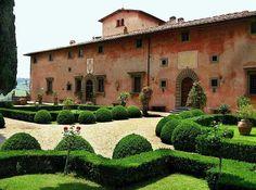 Villa Vignamaggio, Greve, Chianti, province of Florence , Tuscany region Italy