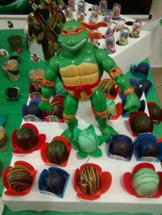 Docinhos tartaruga ninja