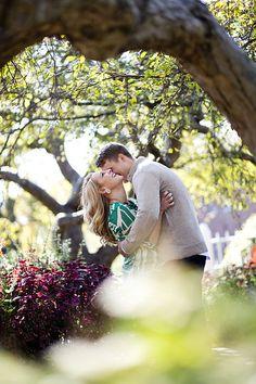 Engagement photography posing