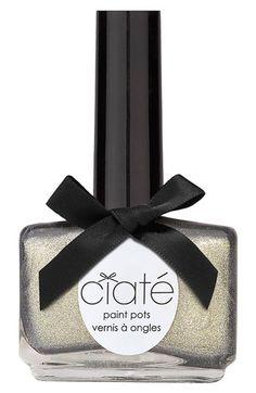 Glamorous liquid metal #nail polish: Ciaté 'Glametal' #Nordstrom #Beauty