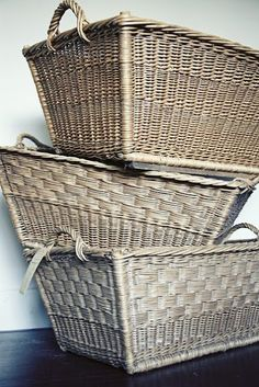 Antique Laundry baskets