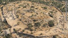 Archaeologists in Israel have found remains which may be the biblical City of King David, the first evidence that the ancient Jewish empire actually existed.