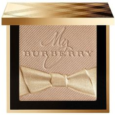 Burberry Gold Glow Pressed Powder ($68) ❤ liked on Polyvore featuring beauty products, makeup, face makeup, face powder, beauty, apparel & accessories, no color, burberry and compact face powder