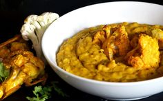 A traditional Nepali-inspired dish, with a coconut twist that's topped off with spicy, tender cauliflower. This super simple one-pot dal is guaranteed to satisfy your belly.