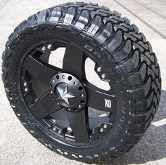 """these are going on my ford some day ;) 33"""" toyo open country mt tires with 20"""" rockstar wheels"""