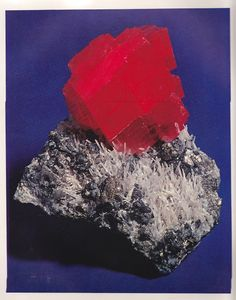Rhodochrosite from Colorado from The World's Finest Minerals and Crystals by Peter Bancroft A Studio Book, The Viking Press, New York, 1973