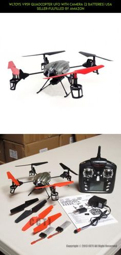 WLToys V959 Quadcopter UFO with Camera (2 Batteries) USA Seller-Fulfilled by Amazon #959 #technology #drone #kit #gadgets #parts #tech #camera #fpv #products #racing #plans #wltoys #shopping