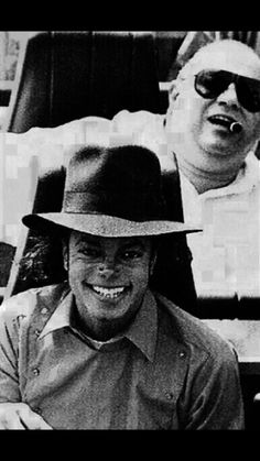 Michael Jackson - Cuteness in black and white ღ