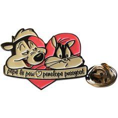 Pin's - Looney Tunes - Pépé le putois et Pénélope