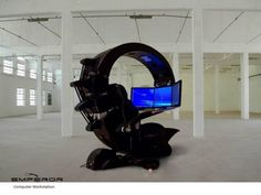My kind of office chair!