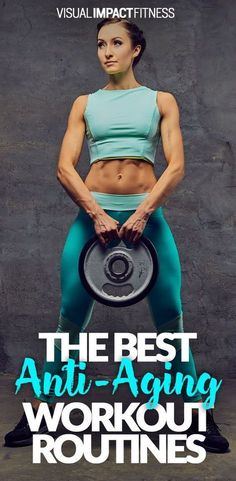 What type of workout routine is best at the age of 40, 50, 60 and beyond?