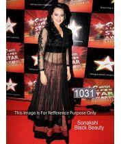 Sonakshi Sinha In Black Anarkali Suit Bollywood Sarees Online, Bollywood Lehenga, Bollywood Dress, Lehenga Choli Online, Bollywood Style, Party Wear Indian Dresses, Best Party Dresses, Salwar Kameez Online Shopping, Saree Shopping