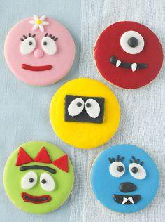 Yo Gabba Gabba! Cookies by TreatsSF, via Flickr