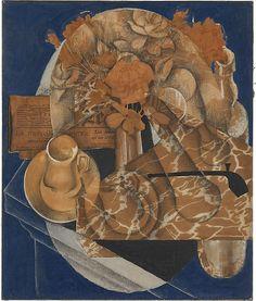 'Flowers' (1914) by Juan Gris