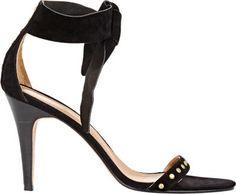 Ulla Johnson Studded Bianca Ankle-Tie Sandals at Barneys New York