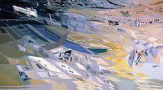 Galeria de O processo criativo de Zaha Hadid através de suas pinturas - 6