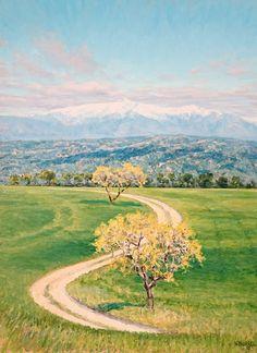 """""""Camino a la montaña"""" de Vicente Burrel"""